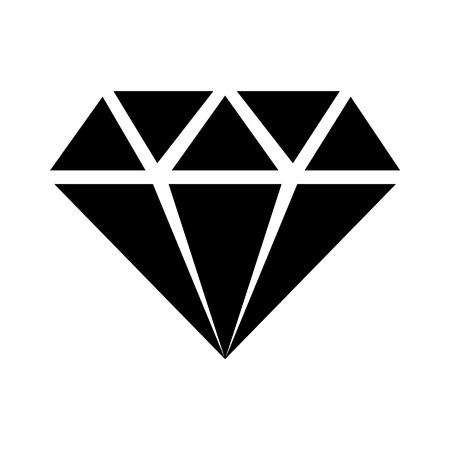 Diamante gioiello gioiello icona piatto per le applicazioni e siti web Archivio Fotografico - 42558483