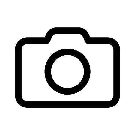 Ikona ikona zdjęć z aparatu fotograficznego dla aplikacji i witryn internetowych