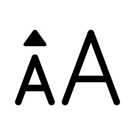 size: Increase font size line art icon for apps and websites