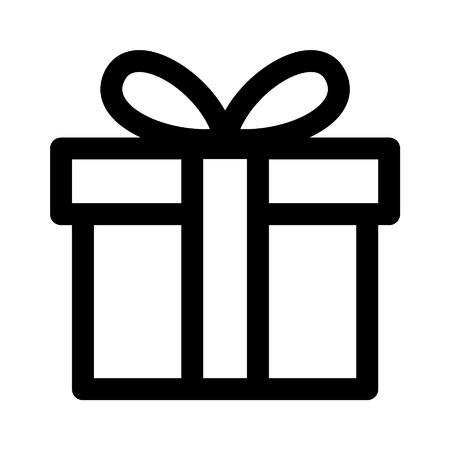Icona dell'arte per regali di compleanno per applicazioni e siti web Archivio Fotografico - 42614987