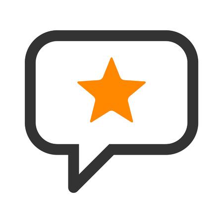 reconocimientos: Gestión de la reputación icono del arte de línea para aplicaciones y sitios web Vectores