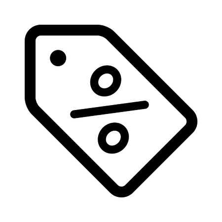 markdown: sale sales tag line art icon for apps and websites
