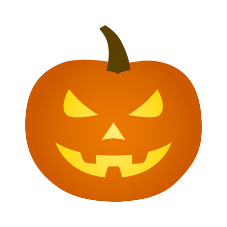 hallow: Jack-o-lantern  jack-o-lantern Halloween carved pumpkin icon for apps and websites