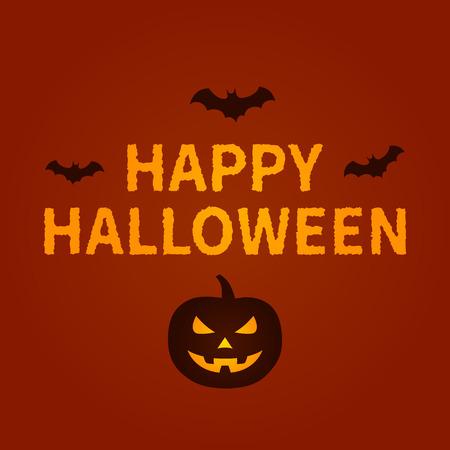 dead end: Happy Halloween holiday card display design