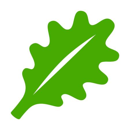 Vegetariana vegana vehículo de la lechuga icono plana para aplicaciones y sitios web
