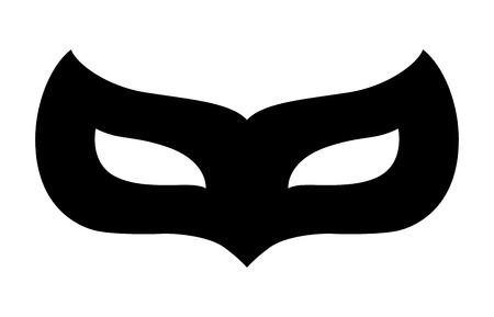 カーニバル変装マスク フラット アイコンのアプリとウェブサイト  イラスト・ベクター素材