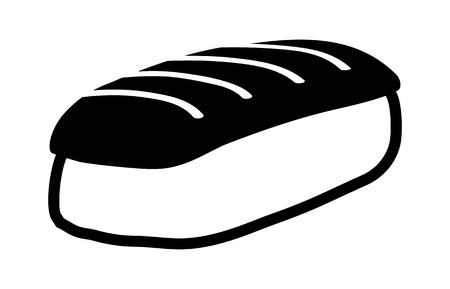 Nigiri sushi - Japanese food flat icon for apps and websites  イラスト・ベクター素材