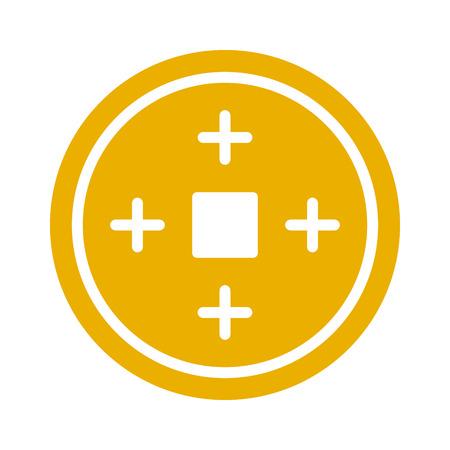 中国の旧正月幸運コイン フラット アイコンのアプリとウェブサイト