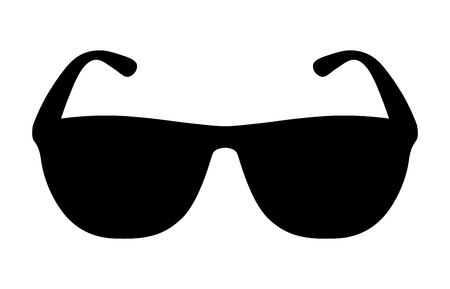 Sunglasses  shades protective eyewear flat icon for apps and websites