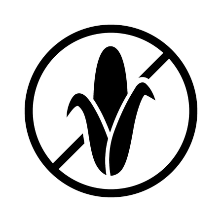 starch: Corn or maize free food allergy product dietary label for apps and websites
