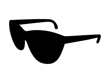 wayfarer: Sunglasses  shades protective eyewear flat icon for apps and websites
