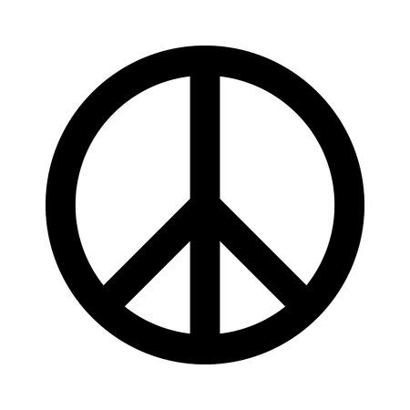 simbolo della pace: icona piatto simbolo della pace per le applicazioni e siti web