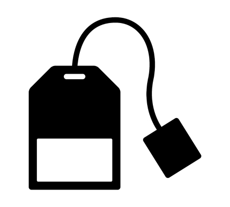 oolong: Teabag  tea bag flat icon for apps and websites