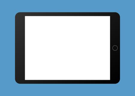 ordinateur tablette portable vecteur plat illustration pour les sites web
