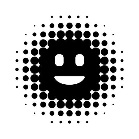 Digitale  virtuele intelligente persoonlijke assistent flat icoon voor apps en websites