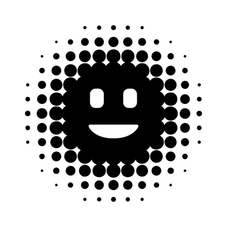 Digital / virtual intelligent personal assistant flat icon for apps and websites