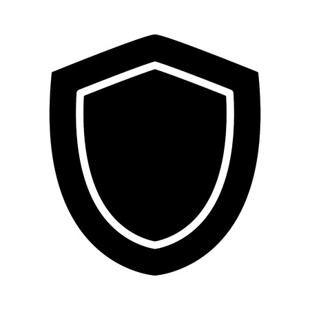 buckler: Medieval shield of protection flat icon for apps and games