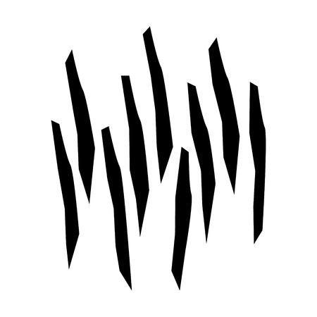 木材パルプや木材繊維フラット アイコンのアプリとウェブサイト  イラスト・ベクター素材