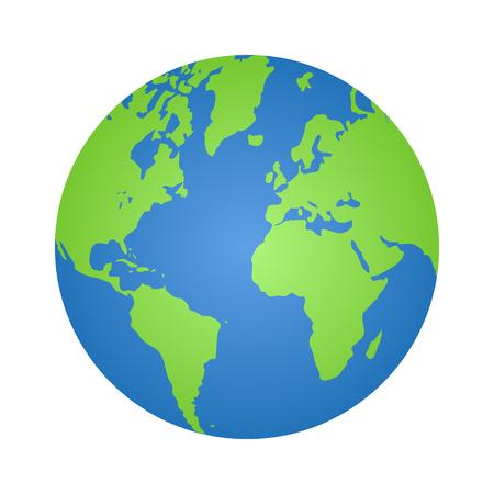 Planet earth  イラスト・ベクター素材