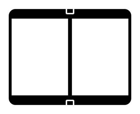 folding smartphone, icon