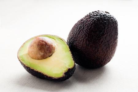 Open fresh avocado photo