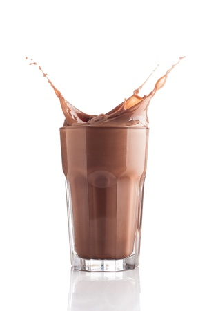 Chocolate splashing  photo