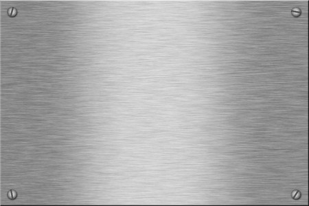 Metal plate series: blank. With room for text Stock Photo - 4009527