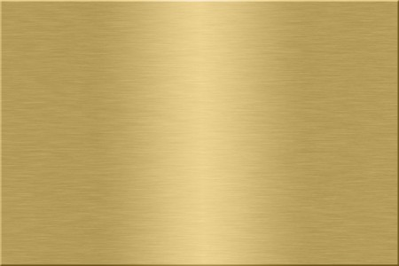 Metal plate series: gold. Stock Photo
