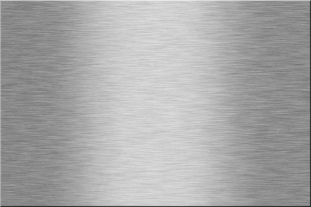 Metal plate series: blank. With room for text Stock Photo