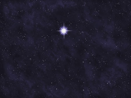 Starfield series: bright star. photo