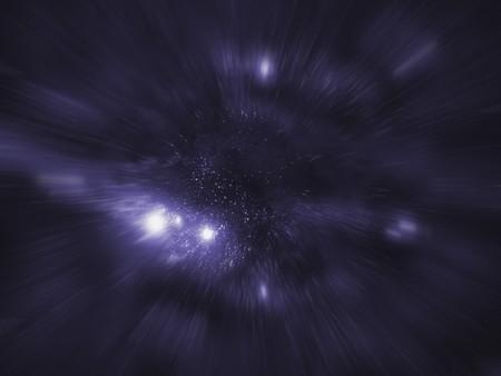 Starfield series: entering hyperspace.