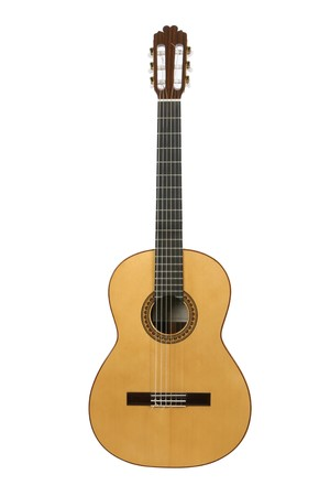 Spanish or classical acoustic guitar, logo removed