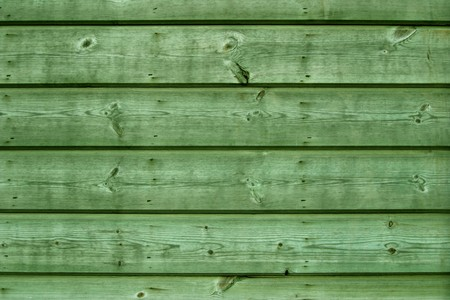 Green  wooden boards. Stock Photo