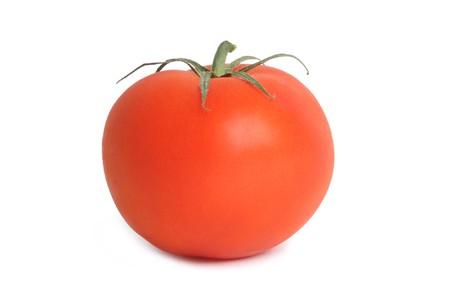 Tomato. Isolated on white Stock Photo