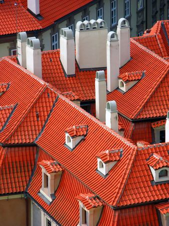 Red roofs (Lesser Town, Prague)