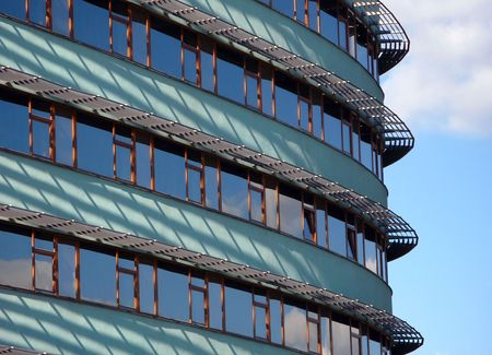 modern oval facade photo