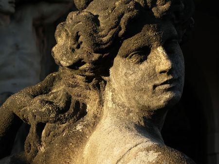 baroque sculpture Stock Photo