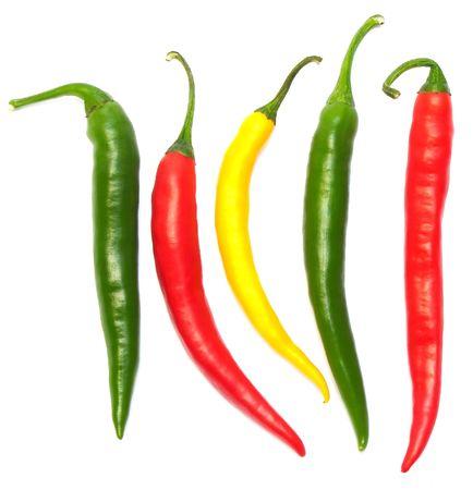 Hot Chilli Peppers Lizenzfreie Bilder