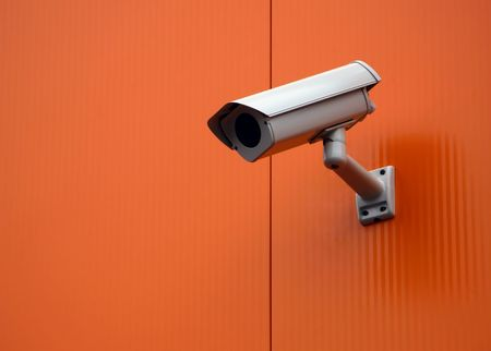 security cam Banque d'images