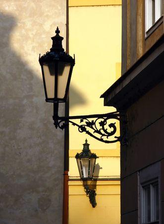 street lamps Stock Photo