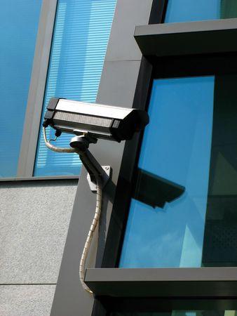 technologic: security cam Stock Photo