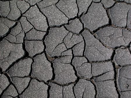 exhalation: dry mud