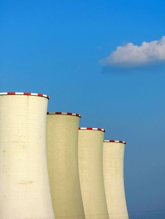 exhalation: cooling towers