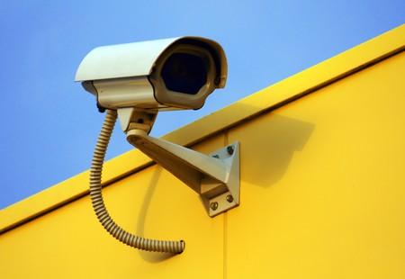 security camera Stock Photo - 3968433