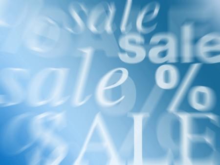 winter sale Standard-Bild