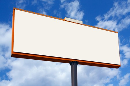 blank billboard Stock Photo - 4066400