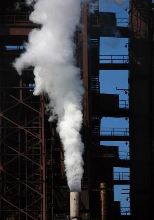 blastfurnace: industrial scenery