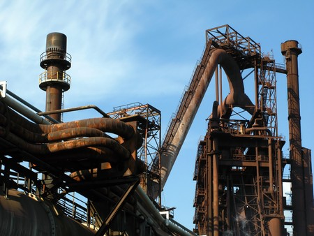blastfurnace: steel plant