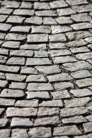stone pavement photo