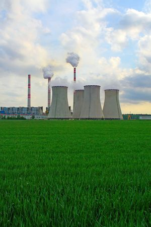 nuclear waste: power plant
